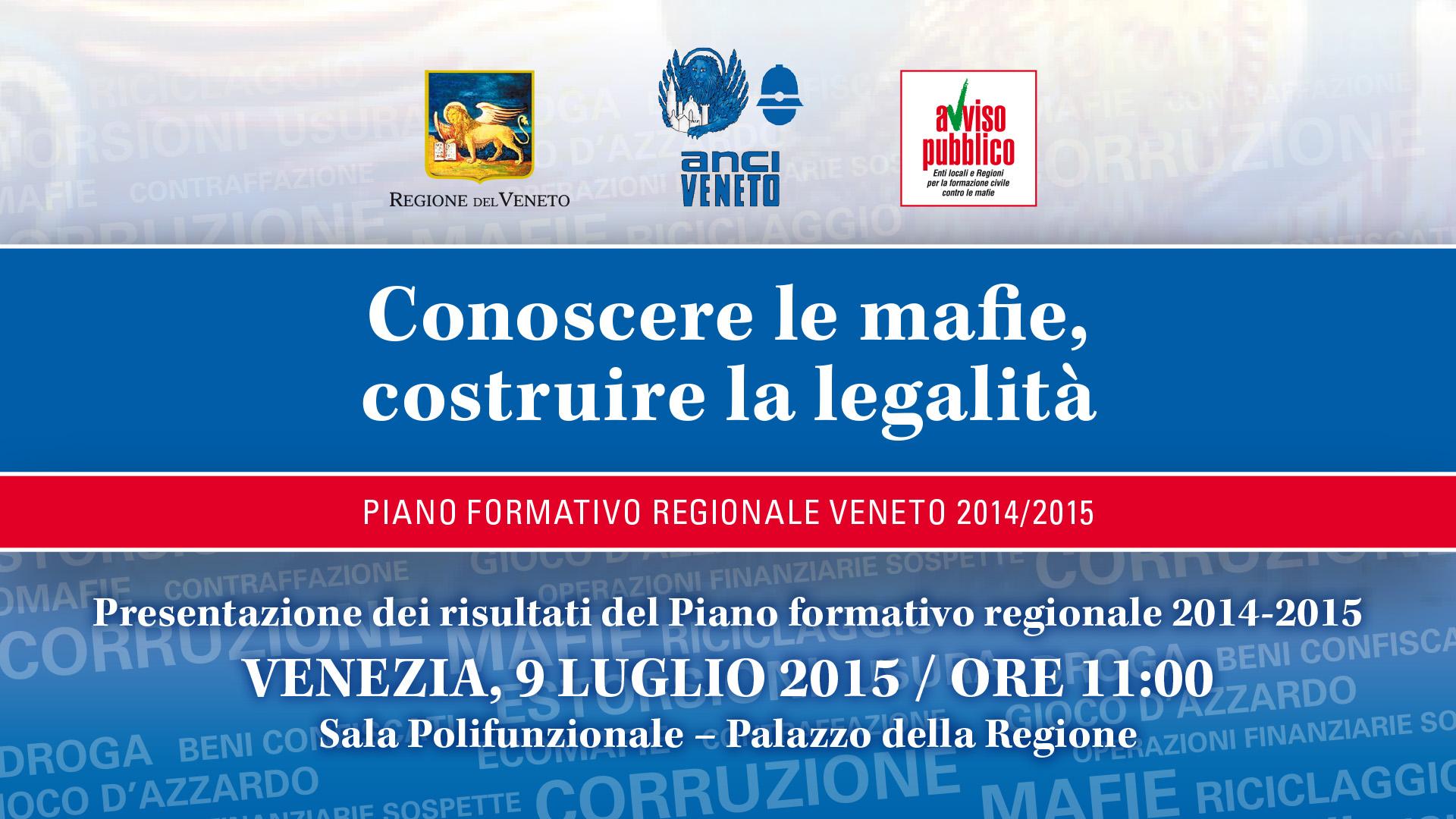 Conoscere le mafie, costruire la legalità – Venezia 9 luglio 2015 ore 11