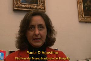 Intervista a Paola D'Agostino direttrice del Museo Nazionale del Bargello a Firenze