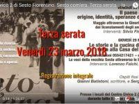 Sesto com'era al Centro Civico 2 di Sesto Fiorentino – Terza serata del 23 marzo 2018