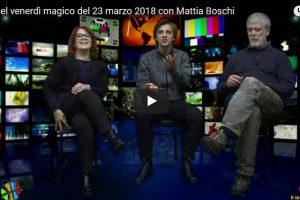 Il tè del venerdì del 23 marzo 2018 con l' Incanto di Mattia Boschi