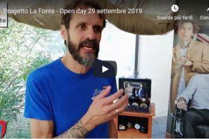 Progetto La Fonte – Open day  29 settembre 2019