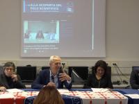 """Conferenza stampa di presentazione della trasmissione """"Alla scoperta del Polo Scientifico"""""""