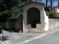 Inaugurazione del restauro delle pitture murali  del tabernacolo de' Logi a Sesto Fiorentino. 12 giugno 2021