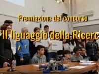 """Premiazione del concorso """"Il linguaggio della Ricerca"""" Area di Ricerca del CNR di Firenze"""